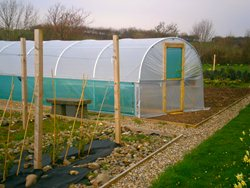 Aluminium Rails for Polytunnel