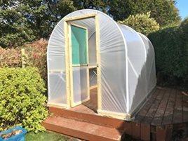 Garden Polytunnels | 6ft Wide Polytunnel For Gardens