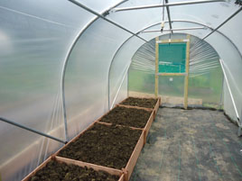 How to build a polytunnel