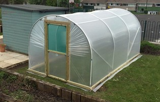 8ft x 15ft Dream Polytunnel