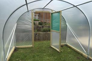 Wide Hinged Door \u0026 Door Frame & Polytunnel Doors | Wide Single Door \u0026 Frame - Premier Polytunnels