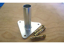 Base Plate to fit 50mm/60mm Tube