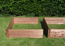 Big Square Raised Bed - Standard - Additional Unit