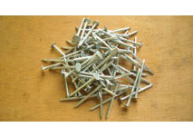 40mm Galvanised Clout Nails - 0.5kg (Pack)