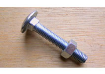 M8 x 60 Cup Square Bolts (Pack)